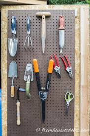 Organizing Garden Tools In Garage - 8 easy and inexpensive ways to organize garden tools organizing