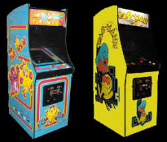 Ms Pacman Cocktail Table Cabinets
