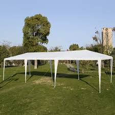 Outdoor Patio Canopy Gazebo by Wedding Tent 10 U0027x30 U0027 Canopy Party Outdoor Gazebo 4 Side Walls