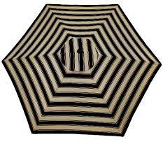 Striped Patio Umbrella Ballard Design Canopy Striped Outdoor Umbrella Copycatchic