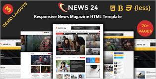 25 responsive html5 magazine templates free u0026 premium themes
