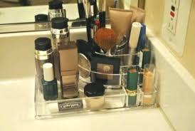 bathroom makeup storage ideas bathroom countertop organizers makeup organizer bathroom makeup