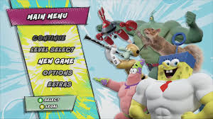 image spongebob heropants main menu png encyclopedia