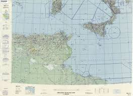 North Italy Free Map Free by Operational Navigation Charts Perry Castañeda Map Collection