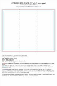 Best Margins For Resume by With Resume Tri Fold Brochure Templates Microsoft Word Template