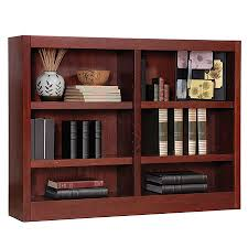 Bookshelves Office Depot by Concepts In Wood Double Wide Bookcase 6 Shelves Cherry By Office