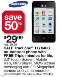 virgin mobile black friday sale 20 for lg 840g