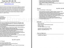 Labor And Delivery Nurse Resume Examples Icu Nurse Resume Examples Medical Surgical Nursing Cover Letters
