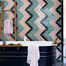Fabulous Wallpaper In Bathroom With Bathroom Colour Schemes Ideal Home