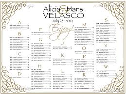 100 free wedding seating chart template excel wedding