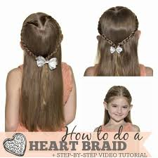 hairstyles for girl video one savvy mom nyc area mom blog how to do the heart braid