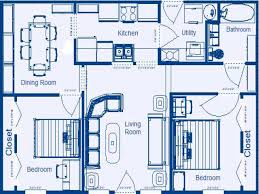 Two Bedroom House Floor Plans 3 Bedroom Floor Plan With Dimensions Photos And Video