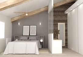 renovation chambre adulte jeux de niveaux plateau loft atelier aménagement