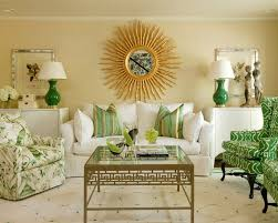 Patterned Armchair Lovely Green Armchair Living Room Transitional With Natural