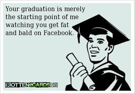 Funny Graduation Memes - fat and bald funny facebook graduation dump a day