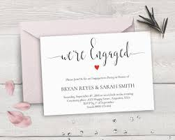 engagement ceremony invitation the 25 best engagement invitation template ideas on