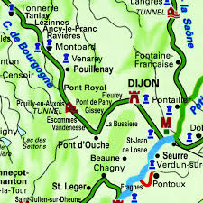 Burgundy France Map by Hotel Barge Magnolia Cruises In France On The Canal De Bourgogne