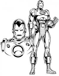 iron man coloring pages kids printable super heroes coloring