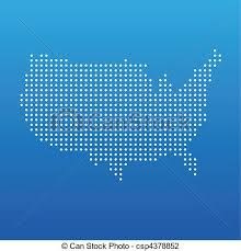 vector us map states free free vector us dot map united states dot map illustration