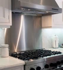kitchen backsplash stainless steel stainless steel backsplash panels 11982