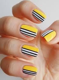 yellow nail art and manicure u2013 30 beautiful ideas nail art
