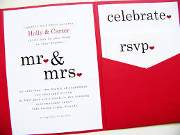 wordings inexpensive red and black printable wedding invitations