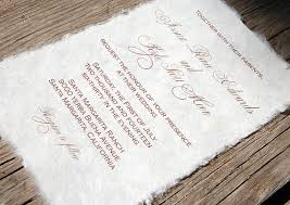 paper for invitations mulberry paper wedding invitation handmade paper eco