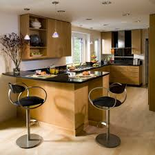 wormy maple cabinets kitchen contemporary with open shelves modern