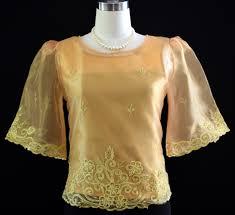 kimona dress gold kimona with alay 5487 barongs r us