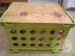 Crate Furniture Cushion Covers Upcycled Crate Seat Tutorial U2022 Christi Fultz