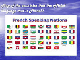 French Language Countries - francophone countries by ryan c and laura c map of the countries