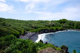 Black Sand Beaches Maui by Wai U0027anapanapa State Park Black Sand Beach Maui Hawaii Life As