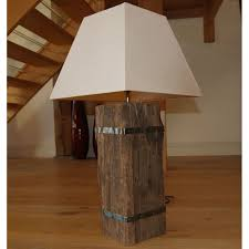 chunky table lamps 126 cute interior and rustic wood cross section