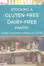 stocking a gluten free dairy free pantry