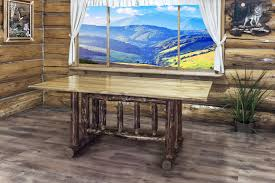 glacier country trestle dining table products pinterest