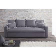 canap gris 3 places canapé fixe 3 places switsofa clara tissu gris achat vente