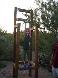 How To Build A Backyard Zip Line by Backyard Zip Line Installation Outdoor Goods