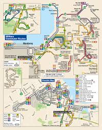 Transit Maps Of The World by Military Commuter Routes Monterey Salinas Transit
