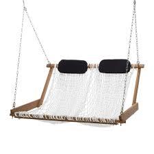 Hammock Swing With Stand Cumaru Porch Swing