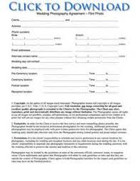 free photography model release form template pdf resume
