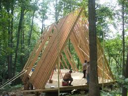 building an a frame cabin framing a frame cabin dacha ideas cabin tiny