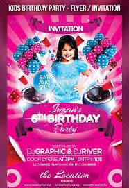 30 best birthday psd flyer templates designssave com