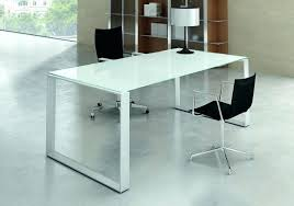 bureau verre trempé bureau verre blanc bureau direction en seven bureau dangle verre
