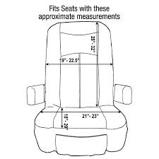 grip fit universal rv seat covers set of 2 rv designer c795