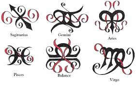zodiac symbol tattoos pictures to pin on pinterest tattooskid