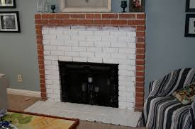 diy brick fireplace remodel u2014 office and bedroom