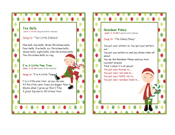 preschool christmas songs fishwolfeboro