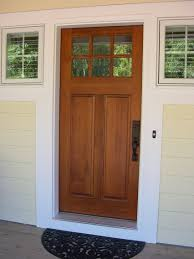 front entry cottage style stained front door troxel custom