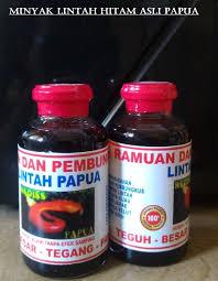 minyak lintah hitam papua hanya yang asli dan murah disini