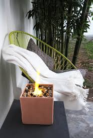 How To Make A Table Fire Pit - the easy way to make a table fire pit ohoh blog